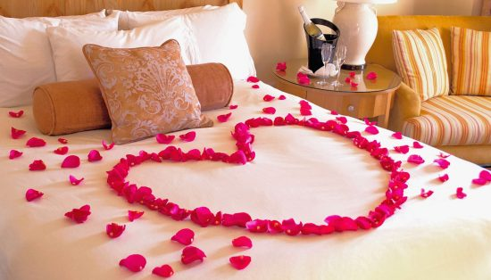 set the valentine's mood for your partner