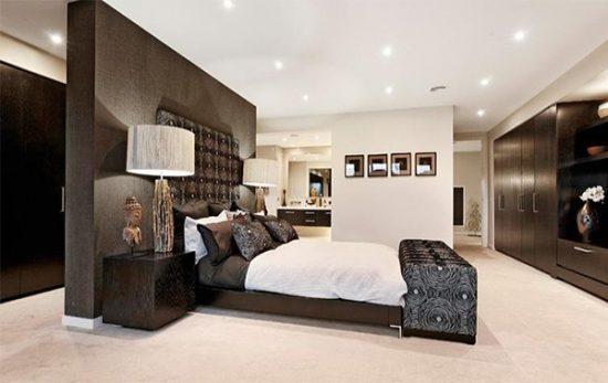 enhance your master bedroom with a modern decor - interior design