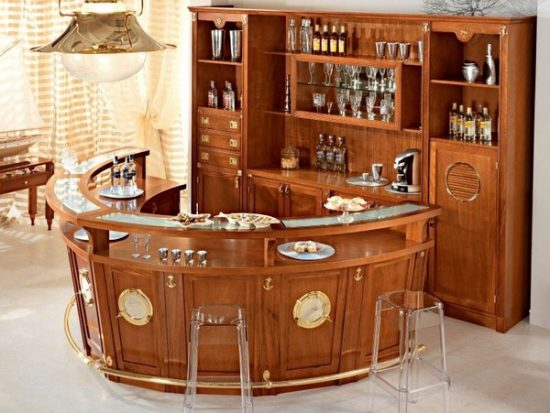 your working area with a suitable Bar furniture