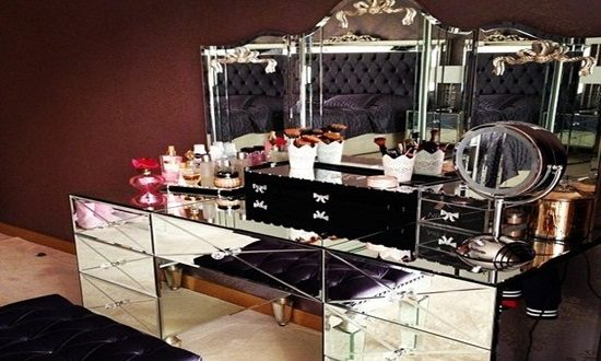 Add value to your home look and functionality by mirrored furniture