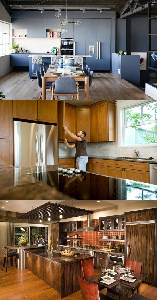 Ergonomic Kitchen Design To Enjoy A Happily Long Life With Your Family Interior Design