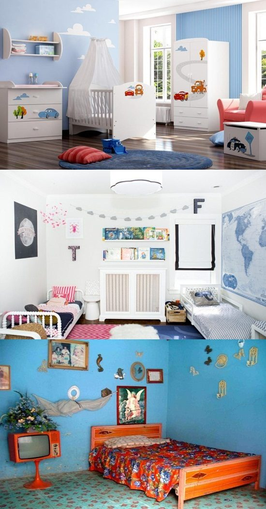 Useful ideas for a wonderful decoration for your baby boy room