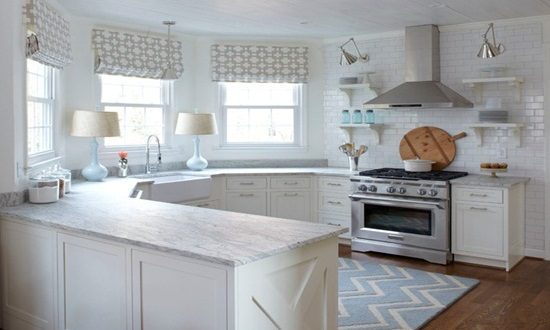 White kitchen design to brighten up your whole kitchen