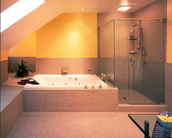 Amazing bathroom design ideas with carnemark designs for Amazing bathroom remodels