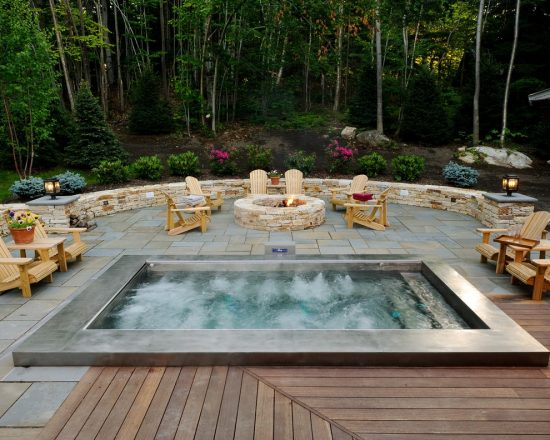 Breathtaking Indoor and Outdoor Spa Design Ideas by Diamond Spas