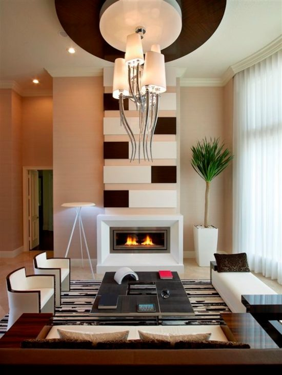 Futuristic home decor and finishes inspired by the designs of britto charette interiors - Futuristic home interior ...