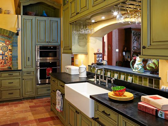 Sophisticated and Warm Kitchen Finishes by Copper Leaf Interior Design Studio