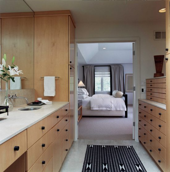 Enrich Your Spirit with a Retreat Modern Bedroom and Master Suite Bathroom by Shelly Handman