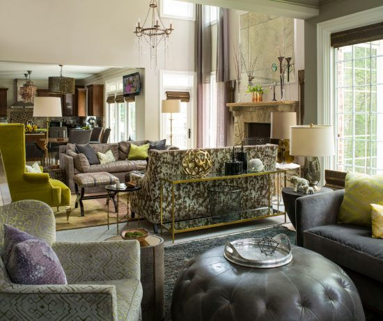 Intimate and Minimalist Traditional Family Room Decorative Tips by Heather  Garrett Interior Design ...