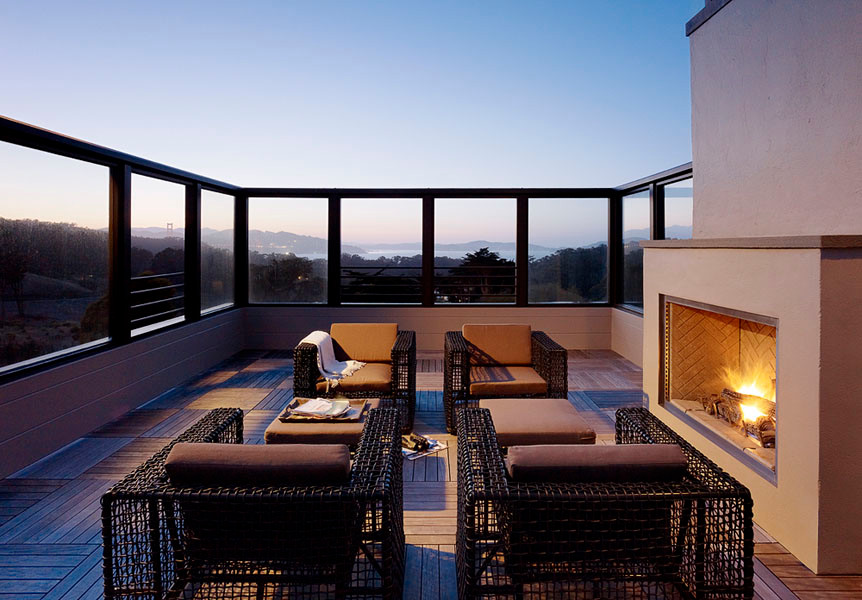 Unique outdoor living space ideas by jeff king interior for 4 space interior design