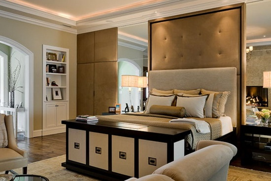 Add a traditional elegance to your bedroom design for Modern day bedroom designs