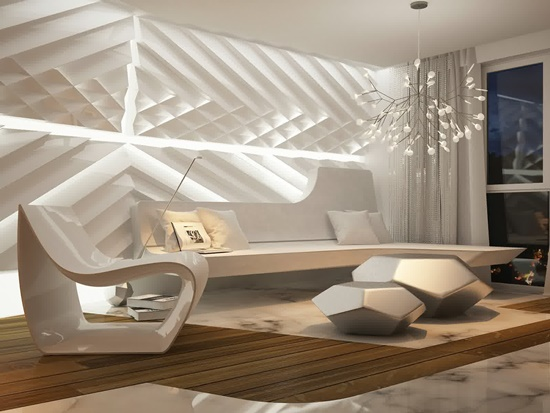 Add luxurious and elegant feel inside your home by comfortable lounge chair