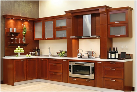 Be smart by designing your kitchen with multi-functional cabinet