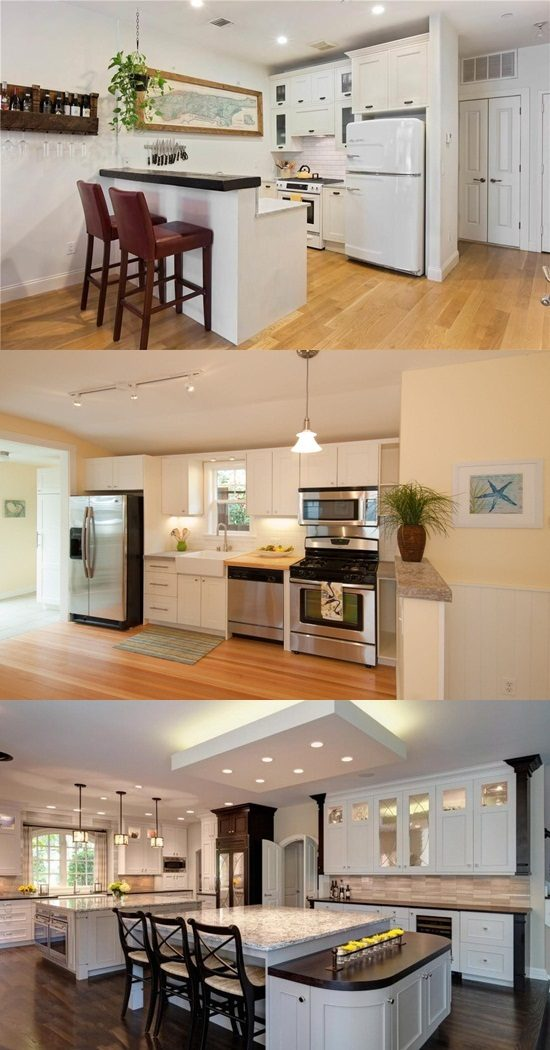 be smart by designing your kitchen with multifunctional cabinet