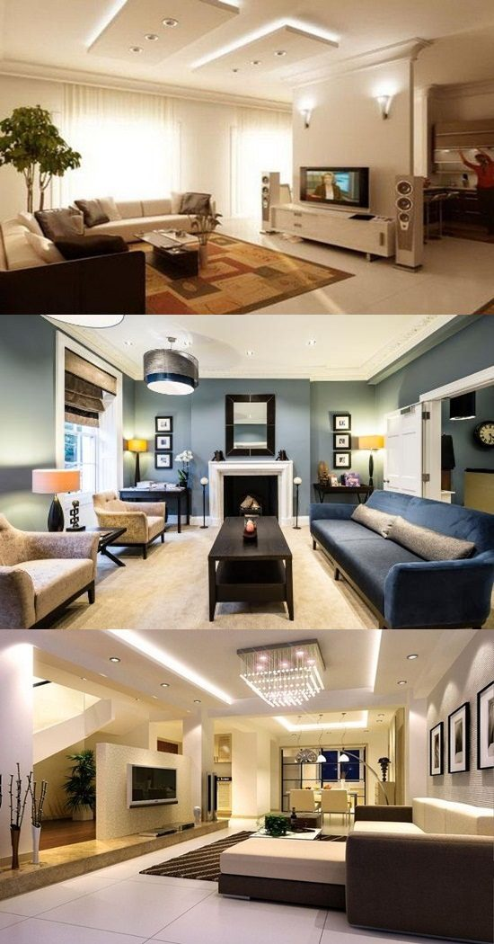 Breathtaking Modern Wall and Ceiling Finishing Ideas Inspired from ...