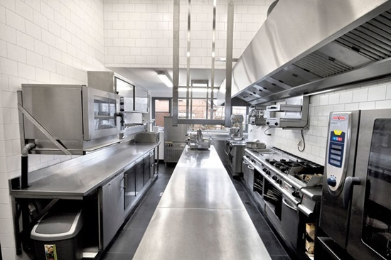 Commercial kitchen design inspiration with a contemporary feel