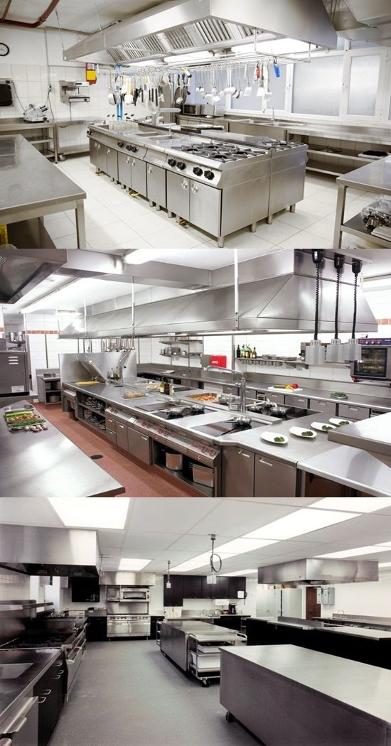 Commercial Kitchen Design Inspiration With A Contemporary