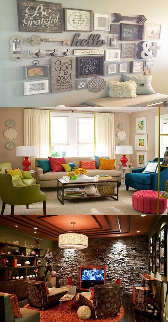 Creative Ways to Choose the Color and accessories of Your Walls Inspired from the Projects of D fo