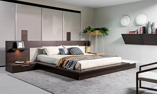 Bedroom Look Ideas. Enhance your bedroom look and mood with modern furniture sets Modern Bedroom  Interior design ideas decorating for