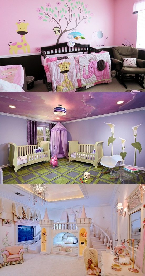 Get some cool design ideas for your little princess for Some interior design ideas