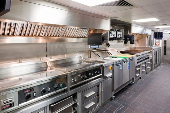 Get a perfect industrial kitchen that inspires you to be for Perfect kitchen equipment