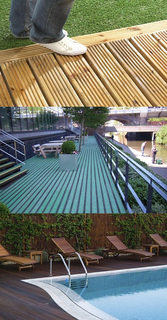 How to create a non slip outdoor decking interior design for Non slip composite decking