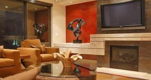 Interesting Warm Colors for Your Modern Home by Friedman and Shields