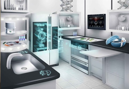 Futuristic Kitchen what a futuristic kitchen is supposed to be without high