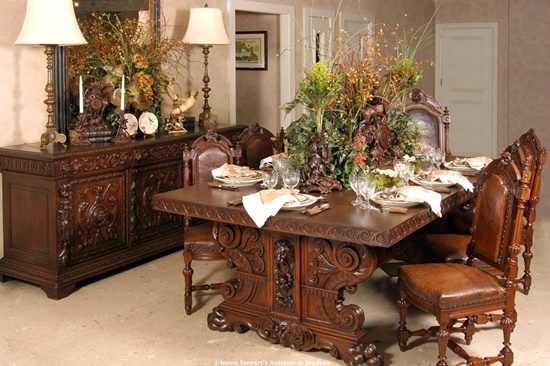 Add elegance and beauty inside your home with an antique piece