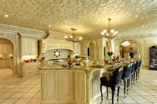 Affordable ideas to decorate a french kitchen by julian for Luxury french kitchen