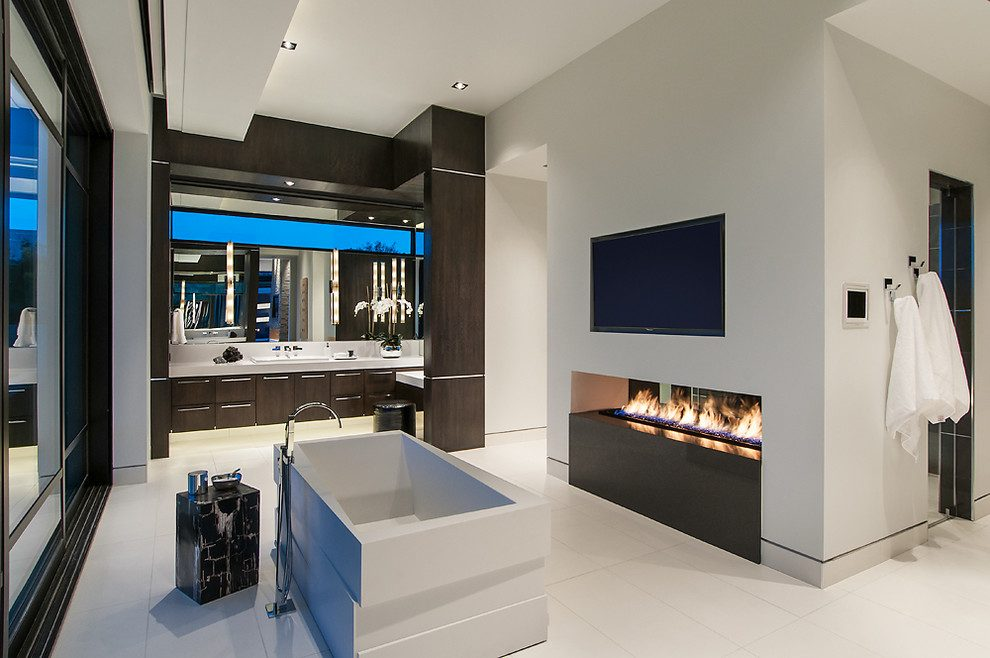 Traditional Interior Design By Ownby: Create An Interior Spa Bathroom And Enjoy Your Time With