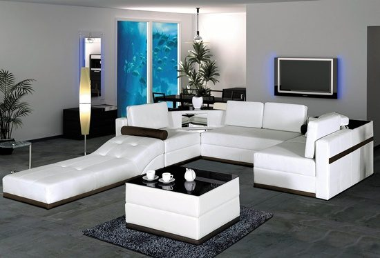 enhance your home with sleek and stylish modern furniture. Black Bedroom Furniture Sets. Home Design Ideas
