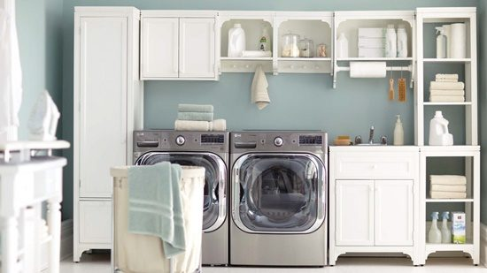 How to feel comfortable and enjoyable inside your laundry room