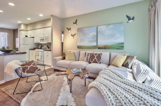 Impressive Open and Eclectic Living Room Designs by Sylvia Beez