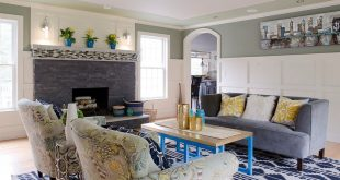 Interesting Accent Wall Ideas for Your Living Space Inspired from Heather Alton's Projects