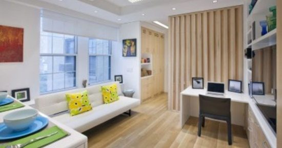 Pick Creative Furniture Solution for your Small Apartment