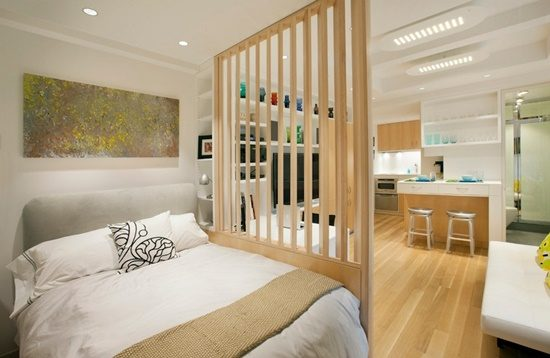 pick creative furniture solution for your small apartment interior