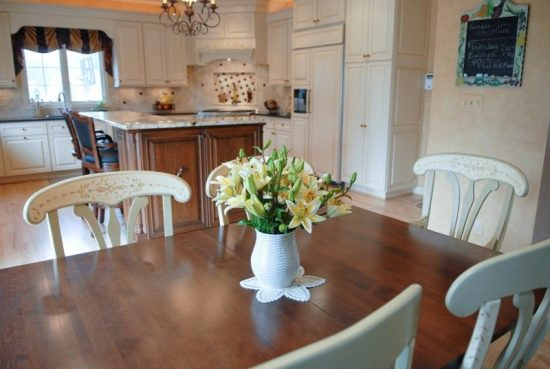 Reasons Why You Should Choose Neutral Colors for Your Dining Space by Moss Design Team We may define the neutral colors as non-complete colors that couldn't provide your home a certain mood without extra decorative elements. Such colors are perfect backgrounds to help you display your inspirational and personal talents throughout the corners of your home. If you still think that the neutral colors are boring and lifeless, you will certainly change your mind quickly. Such colors include warm and cool shades such as the wide range of grey shades, white, black, and pale shades of all existing colors. Moss design team members use Montpelier ashlar grey, Alexandra beige, storm, backdrop, shale, accessible beige, and fresh grey shades in different dining spaces to show off the existing furnishings, accessories, and textures and let the homeowners change such decorative elements every season. The neutral colors blend perfectly with different decorative styles starting from ultramodern to traditional dining rooms keeping the place up-to-date for long years. If your little daughter needs a pop of pink or purple color to have her food comfortably, the neutral background will let you use pink or white curtains or even fun accessories to provide the room an enjoying personality. If such a dining space is incorporated to the kitchen, the neutral colored walls, floor, along with powerful and accent LED lights will enhance the aesthetic and comforting look of the place. Whenever you stage your home for a resale, the neutral colored walls will help you depersonalize the place and tell the potential buyer that he is in his home. As a formal room, the dining space needs neutral colored walls with a touch of color or personal decorative elements to match the different tastes and cultural backgrounds of your guests and create harmony with the rest of your home at the same time.