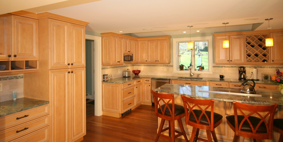 simple ideas to update your old kitchen cabinets by mary porzelt interior design. Black Bedroom Furniture Sets. Home Design Ideas