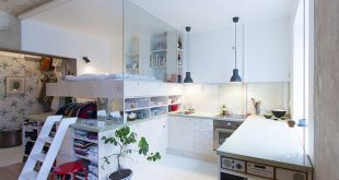 Smart and Tricky Ideas to Provide More Space in Small Apartments