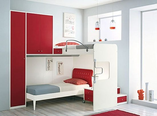 For small spaces, it is all about storages and how to organize your ...