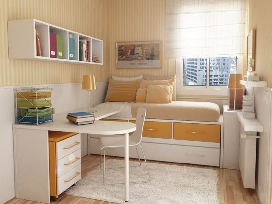 Some useful ideas to organize your small spaces