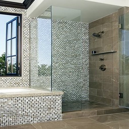 Mosaic Bathroom Tile Ideas: Stylish Decorating Ideas Using Mosaic Glass Tiles