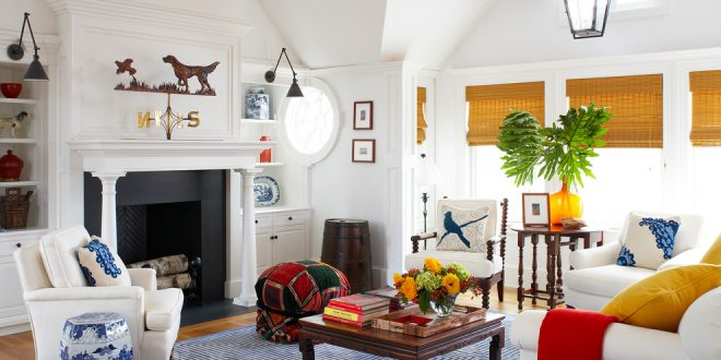 Who Says That a Classic Home Means a Boring Home?