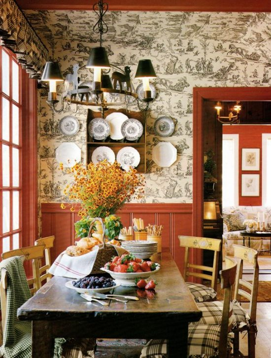 Simple Tips To Teach You How To Decorate With Toile De Jouy Interior Design