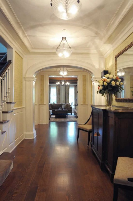 Creative and Luxurious Entry and Hallway Design Ideas by Sandra Oster Interiors