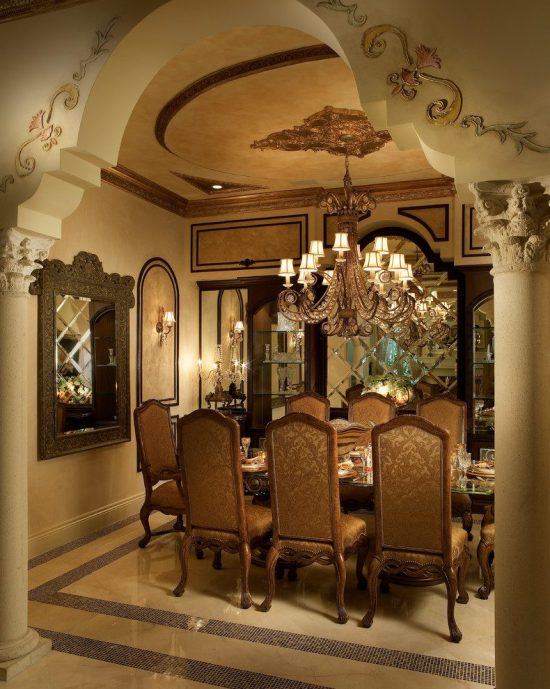 Incredible ideas to provide your home a unique majestic for Dining room entrance ideas