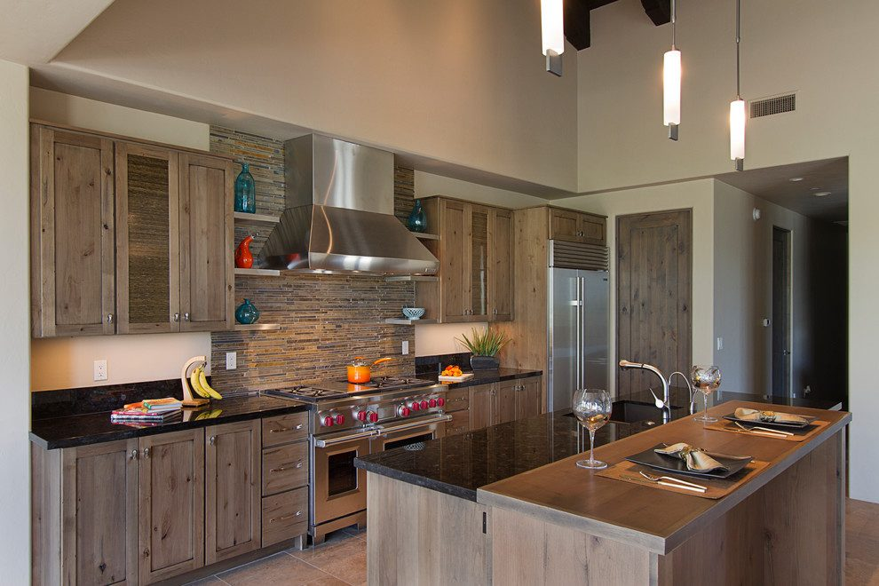 inspiring transitional elements to keep your kitchen