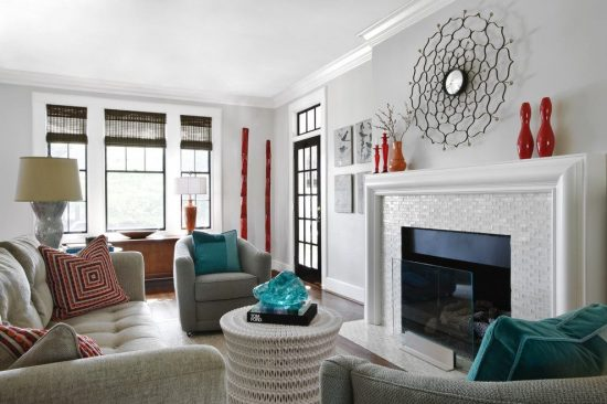 Simple Ideas to Incorporate Metallic Accents into Your Living Room and Kitchen on Budget Inspired from Cynthia Masters' Projects