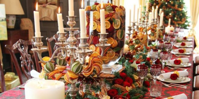 Celebrate your holiday with this year trendy Christmas centerpiece